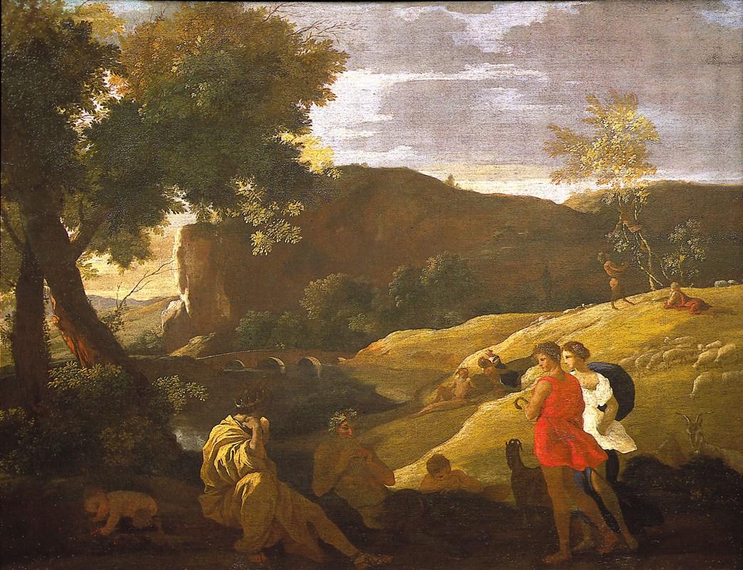 "<span class=""name"">NICOLAS POUSSIN</span> <span class=""date"">(LES ANDELYS 1594 – 1665 ROME)</span>"