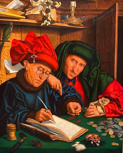 The Tax Collectors, or 'The Misers'