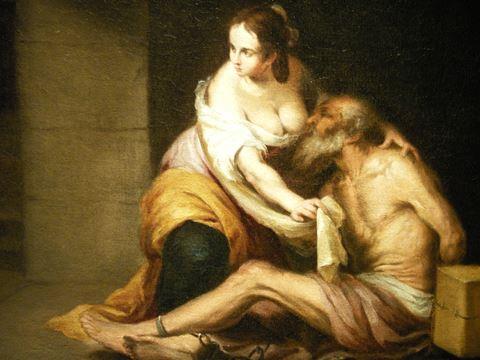 """Roman Charity"""