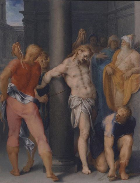 """The Flagellation of Christ"""